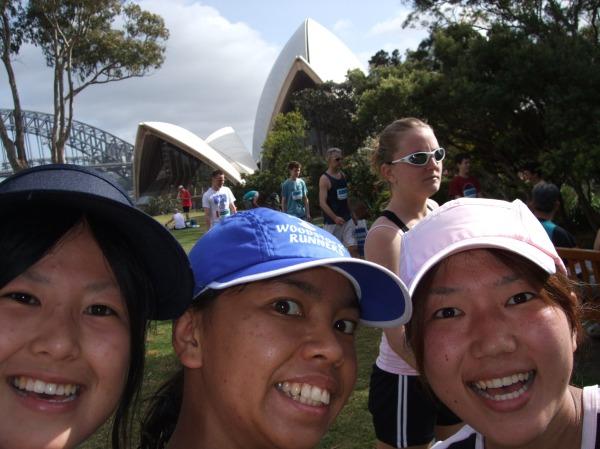 Japanese elite half marathon runners