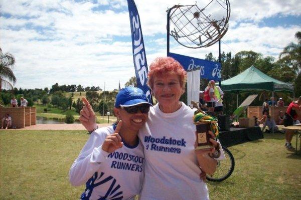 Woodstock team - Winner Women's division